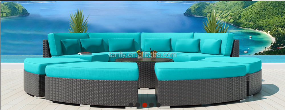 2016 new style plastic rattan woven furniture outdoor