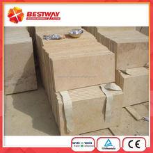 Yellow China Limestone Interior Wall Tiles