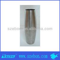 Custom silver vase