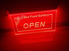 acrylic luminous open sign