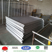 20 years factory!! Galvanized Chain link fence for temporary fence