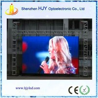 high resolution P8 outdoor entertainment led display