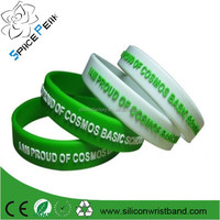 2015 factory pulsera de silicona custom silicone goma rubber wristband/wholesale silicone bracelet/banda elastica