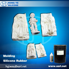 RTV-2 liquid silicone for mold making HY-625# similar to and Blustar 3325 and Dowcorning 3481