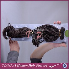 New arrival track hair braid, thick micro braid weft, kanekalon synthetic marley hair braid