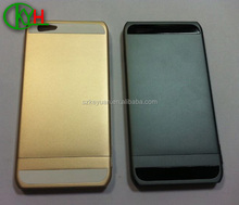High quality competitive price cnc phone case with colorful prototype service