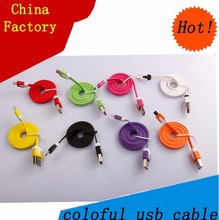 China factory car audio aux 3.5mm usb cable for Smartphones charging usb cord