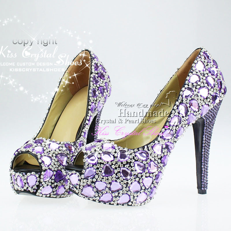 Mouse over to zoom in Lilac High Heels