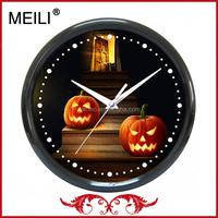 2015 Halloween Cheap Gift Wall Clock