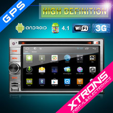 TD630A-6.2'' Multi-touch Screen android 4.1 tablet PC Stylish and Unique UI 1080P 3G/Wifi Double Din Car DVD Player