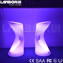 night club stool/led bar chair/plastic bar furniture