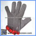 guantes de malla de alambre de acero inoxidable para cortar