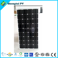 Hot sale 100W mono panel solar in stock