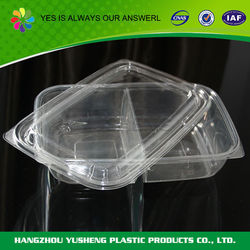 Top sale guaranteed quality plastic sushi tray food container