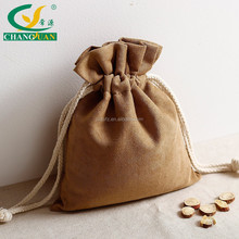 Hot sell Jewelery gift suede bag drawstring with cheap price
