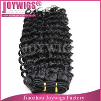 Fast delivery! 7A grade raw human hair,virgin Brazilian hair weave , cuticle aligned deep wave hair