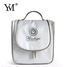 2015 custom wholesale white nylon personalized cosmetic bags