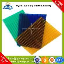 GE lexan 1.0mm thickness polycarbonate transparent sheet for roofing
