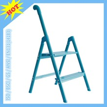 2016 attractive 2 step ladder single rail portable household step attic stair price folding stepladder