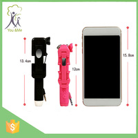 12cm pen Mini Handheld Selfie Stick for camera and phones as Christmas Gift and thanksgiving day