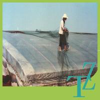 HDPE plastic greenhouse cover woven poly film / transparent pe tarpaulin