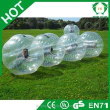 HI Top popular Dia1.2m/1.5m/1.7m TPU/PVC hot sale bumper ball,human inflatable ball,funny bumper ball