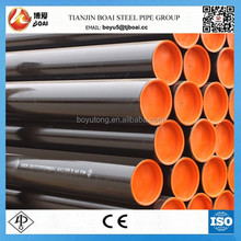 ERW carbon welded steel pipe API 5L X52