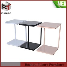 cheap metal simple design center table
