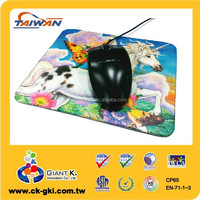 Promotional custom printed wholesale colorful the mouse pad