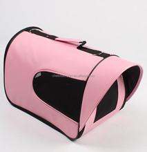 Foldable travel shpulder pet bag dog carrier
