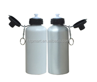 400ml stainless steel easy drinking sports water bottle with cap