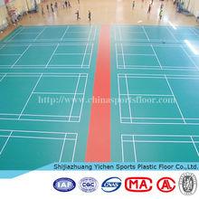 International standard BWF badminton court floor