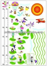 2012 best price wall height stickers