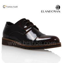 smooth-box leather platform shoes on wholesaling