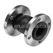 4 inch double flange RF stainless steel material connection rubber joints