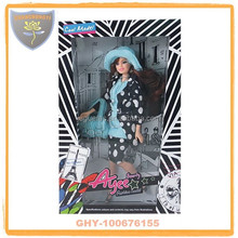 Best 100% safety black doll toys 12 inch with accessory