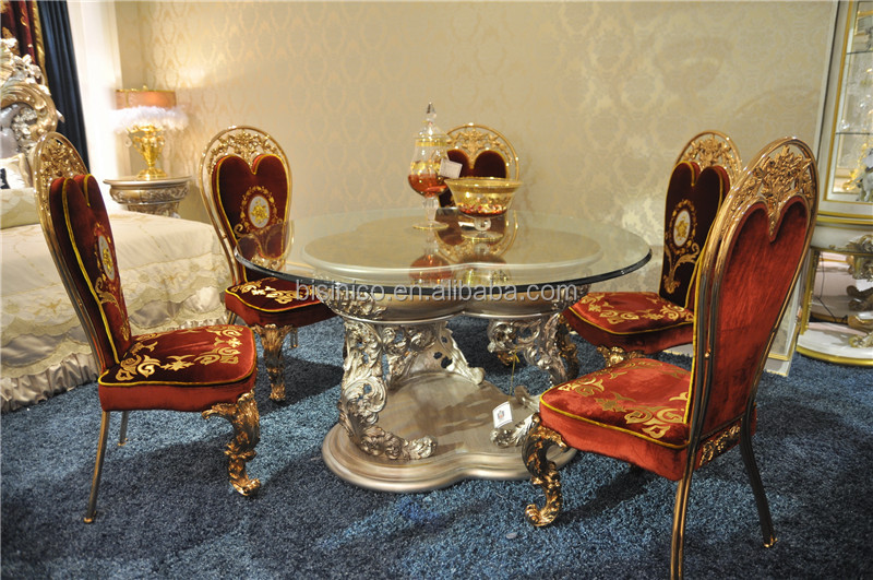 Italian Reproduction Glass Top Round Dining Table Set  : Italian Reproduction Glass Top Round Dining Table from www.alibaba.com size 800 x 531 jpeg 190kB