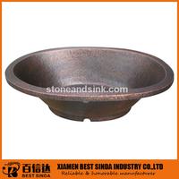 Pure copper antique cast iron bathtub