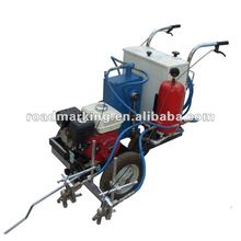 YDL-6 Hand-push airless cold paint spraying road marking Machine(double pumps/double guns)