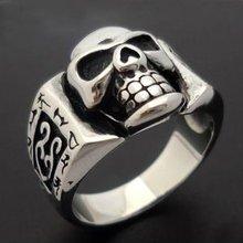 fashion skull biker gamber wholesale indian ring