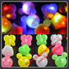 Light Up Soft Jelly Rings Flashing Rubber Ring