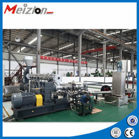 Recycling PP,PE film ,non-woven ,jumbo bags pelletizing line plastic recycling machine single screw extruder for supplier