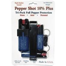 Best Value - Tri-Pack Pepper Shot Pepper Spray