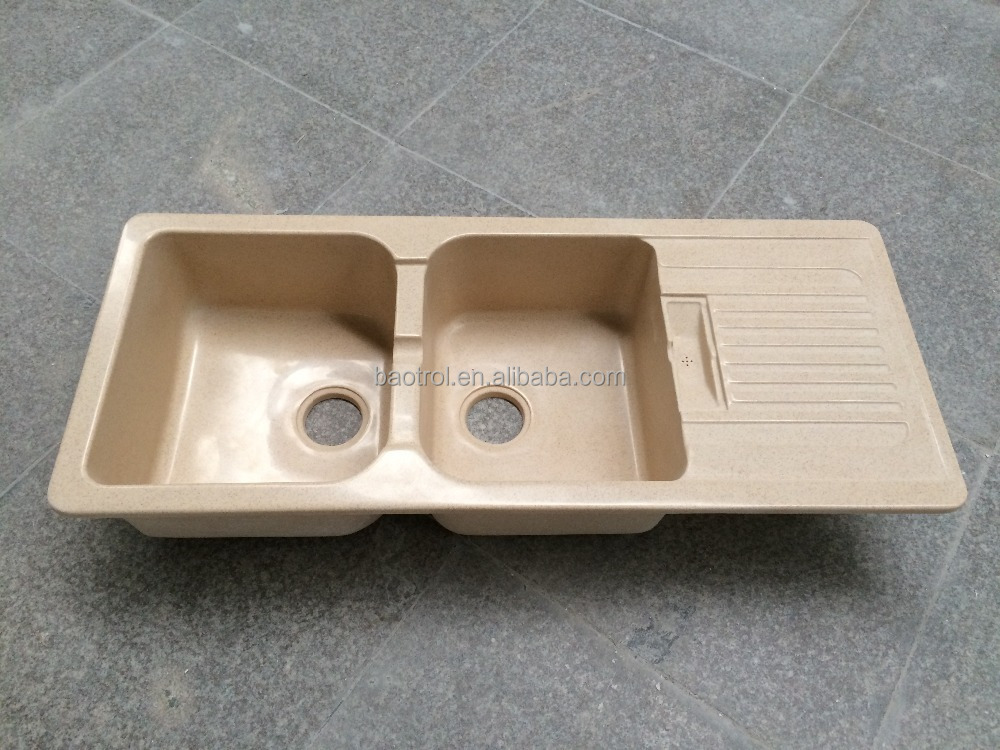China Manufacture Acrylic Solid Surface Kitchen Sink