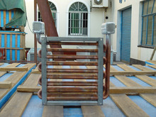 heat exchanger heater copper tube extruded fin ASME