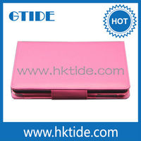 China Produce Detachabel Leather Case With Keyboard For 7 Inch Tablet PC