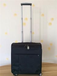 Baigou trolley case Men's business 17inch cabin case trolley luggage black laptop trolley bag