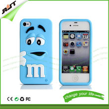 3D design silicone mobile phone case for iphone 5/5s, for iphone 5/5s 3d cartoon design phone case cover
