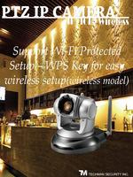TSTI ANC-808PMB 10X Optical IP Camera cctv PTZ Poe security IP camera