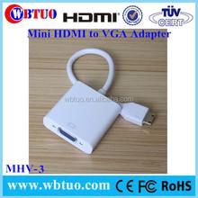 Lightning Interface vga to Mini HDMI adapter